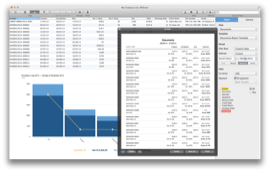 BillSonar Invoice software Mac OS X Reports View